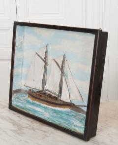 English 19th Century Nautical Diorama - 1114211
