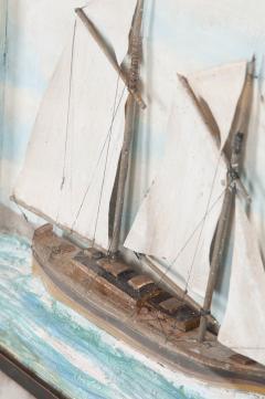 English 19th Century Nautical Diorama - 1114212