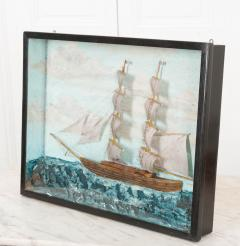 English 19th Century Nautical Diorama - 1114215