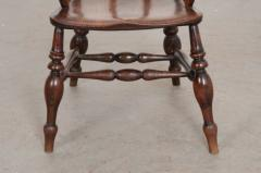 English 19th Century Oak Captain s Chair - 1395064