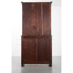 English 19th Century Regency Faux Bois Bookcase - 2076238
