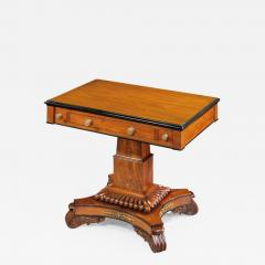 English 19th Century William IV Period Carved Mahogany Games Table - 679457