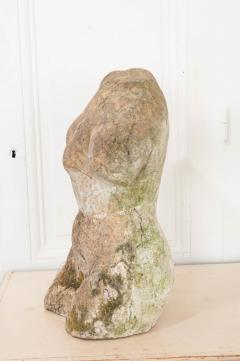 English 20th Century Stone Torso - 1111948