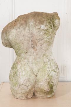 English 20th Century Stone Torso - 1111951