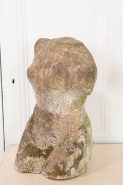 English 20th Century Stone Torso - 1111953