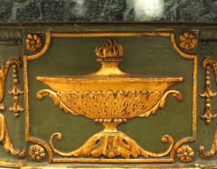 English Adam Style Gilt and Marbled Console Table - 1428032