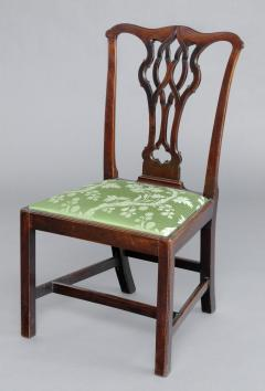 English Antique Chippendale Side Chair - 777399