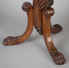 English Antique Regency Revolving Piano Stool - 1247310