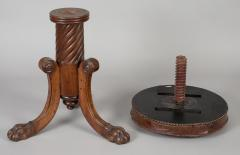 English Antique Regency Revolving Piano Stool - 1247313