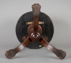English Antique Regency Revolving Piano Stool - 1247315