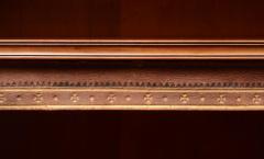 English Antique Victorian Walnut Open Bookcase Circa 1870 - 777124