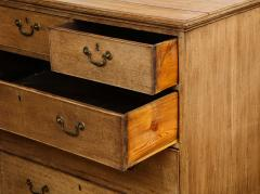 English Bleached Oak Chest - 1311047