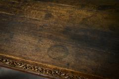 English Carved Oak Table - 282048