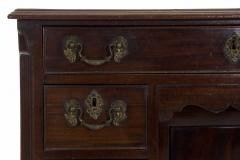 English Chippendale Mahogany Kneehole Desk - 707778
