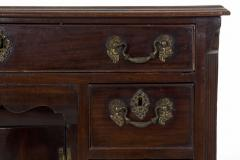 English Chippendale Mahogany Kneehole Desk - 707780