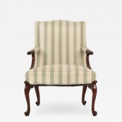 English Chippendale Mahogany Lolling Chair late 18th Century - 708536