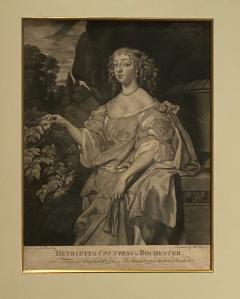English Engraving Henrietta Countess of Rochester Circa 19th Century - 1473911