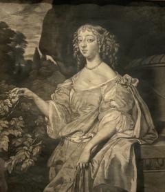 English Engraving Henrietta Countess of Rochester Circa 19th Century - 1473912