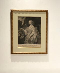English Engraving Henrietta Countess of Rochester Circa 19th Century - 1473913