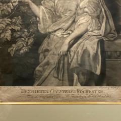 English Engraving Henrietta Countess of Rochester Circa 19th Century - 1473914