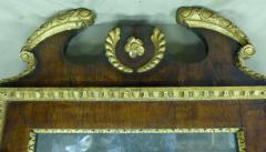 English George I Parcel Gilt and Walnut Mirror - 36245