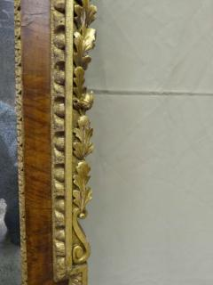 English George I Parcel Gilt and Walnut Mirror - 36246