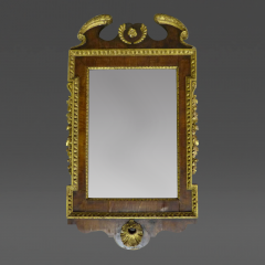 English George I Parcel Gilt and Walnut Mirror - 36414