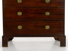 English George III Antique Mahogany Chest on Chest circa 1800 - 1089251