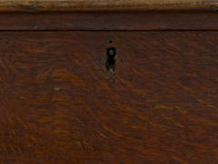 English George III Antique Oak Blanket Chest over Two Drawers - 1113806
