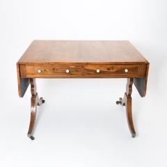 English Georgian Brazilian Rosewood Sofa Table - 1730310