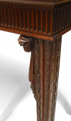 English Georgian Mahogany Console Table - 1428616