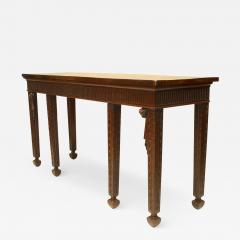 English Georgian Mahogany Console Table - 1430403