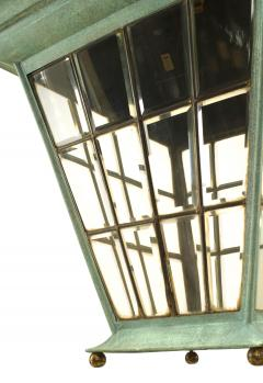 English Georgian Patinated Copper Lantern - 1279271