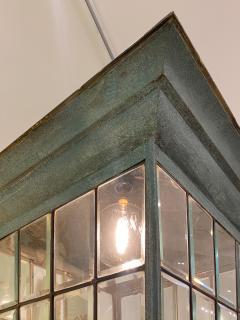 English Georgian Patinated Copper Lantern - 1279276
