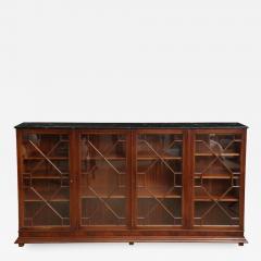 English Mahogany Bookcase - 805485