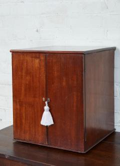 English Mahogany Collectors Cabinet Drinks Table - 1984301