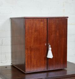 English Mahogany Collectors Cabinet Drinks Table - 1984302