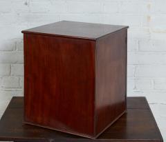 English Mahogany Collectors Cabinet Drinks Table - 1984309