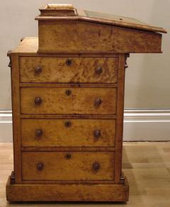 English Maple Davenport Desk of the Late Georgian Period - 627699