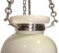 English Milk Glass Lantern - 1052900