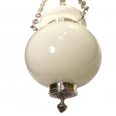 English Milk Glass Lantern - 1052902
