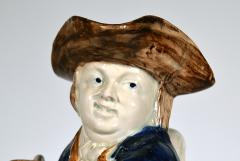 English Pottery Hearty Good Fellow Pearlware Toby Jug - 1617597