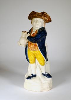 English Pottery Hearty Good Fellow Pearlware Toby Jug - 1617598