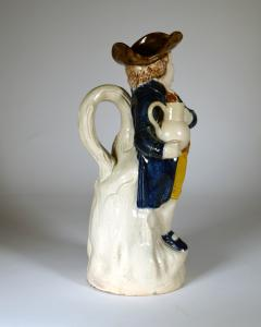 English Pottery Hearty Good Fellow Pearlware Toby Jug - 1617599
