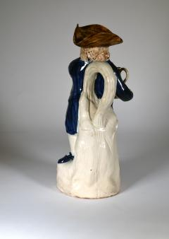 English Pottery Hearty Good Fellow Pearlware Toby Jug - 1617601