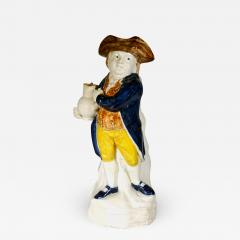 English Pottery Hearty Good Fellow Pearlware Toby Jug - 1618928