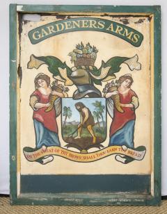English Pub Sign Gardeners Arms  - 241205