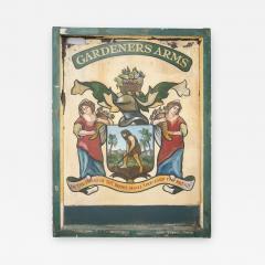 English Pub Sign Gardeners Arms  - 241246