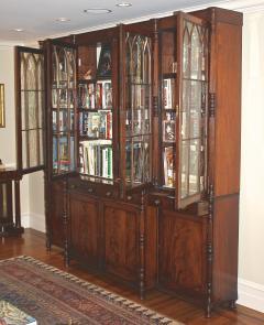English Regency Breakfront Bookcase - 1781701