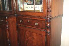 English Regency Breakfront Bookcase - 1781703